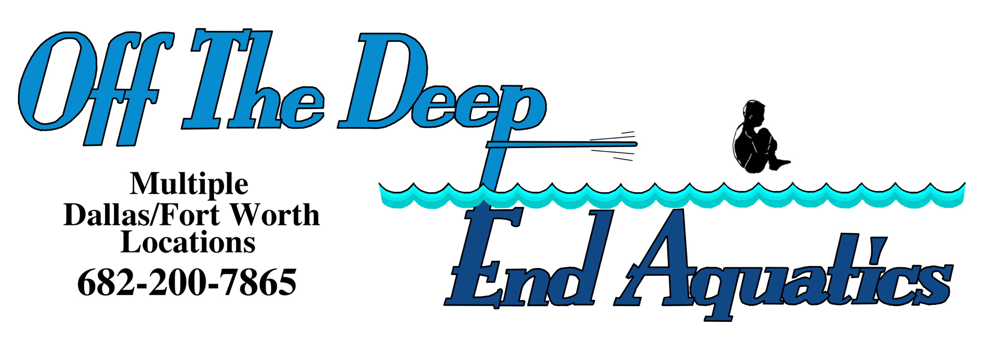 Off The Deep End Aquatics Logo